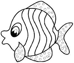 Free Fish Coloring Pages Free Rainbow Fish Coloring Pages