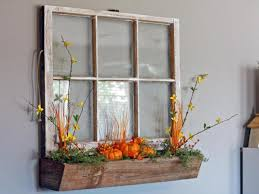 Old Window Frame Decor 5 Upcycled Window Projects We Love Hgtvs Decorating Design