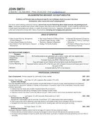 Account Planner Resumes Sales And Marketing Resumes Sample Marketing Resumes Marketing