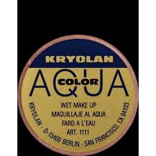 kryolan face and body makeup 1140 aquacolor interferenz