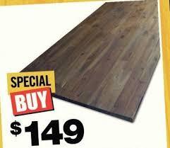 home depot acacia wood kitchen countertop brown 149 00 acacia wood kitchen countertop brown