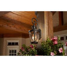 allen roth castine h oil rubbed bronze outdoor wall light at lowe s canada find our selection of outdoor wall lighting at the t