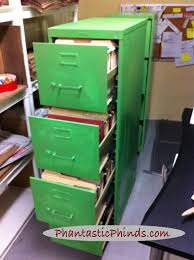 Green File Cabinet Phantastic Metal Filing Cabinet Update How To Use Chalk Paintr On