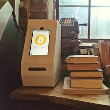 How To Make A Vending Machine Out Of Cardboard Box Amazing First Bitcoin ATM Vending Machine In Atlanta Imgur