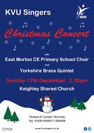 Christmas Concert Poster Christmas Concert Poster Kvu Singers