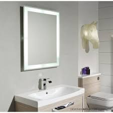 lighted mirror bathroom. Malocalguide Illuminated Mirror Bathroom Sample Amazing Personalized White Wallpaper Cream Fraction Framed Silver Sink Lighted