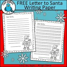Free Letter To Santa Writing Paper Chirp Graphics