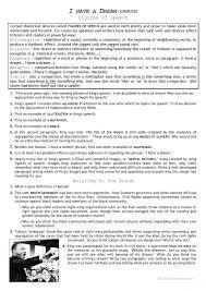 I Have A Dream Worksheet Or I Have A Dream Worksheets P Inspiring ...