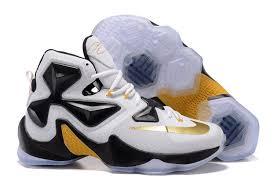 lebron james shoes 13 gold. cheap men\u0027s nike lebron xiii basketball shoes white/black/gold australia for sale restock lebron james 13 gold 7