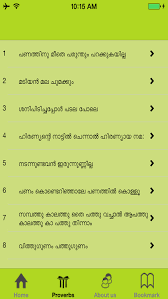 malayalam proverbs ver for ios com malayalam proverbs screenshot 2