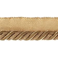 Decorative Fabric Trim Helena 3 8 Decorative Lip Cord Trim Gold Discount Designer