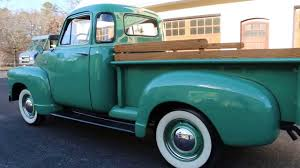 1951 Chevrolet 3100 5 Window Pick Up Truck For Sale~Straight 6~3 ...