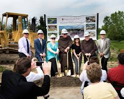the project broke ground on may 15 2017 and has a planned construction duration of approximately 13 months