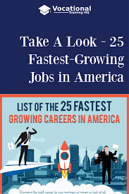 Vocational Careers List These Are The Jobs Of The Future According To The Bls What