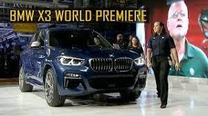 2018 bmw usa. fine bmw 2018 bmw x3 world premiere in spartanburg south carolina usa throughout bmw usa