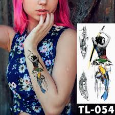 470 руб 30 скидкапереводная вода в японском стиле гейша воин временная татуировка