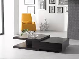 Creativity Black Contemporary Sofa Tables Modern Table Style E Throughout Design