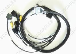 quality electrical wire harness automotive wiring harness 9 core electrical wire harness hdb 44 pin plug rj45 8p8c for taximeters