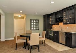 Basement Kitchen Designs Fascinating Basement Refinishing Ideas Nuclearoreilly
