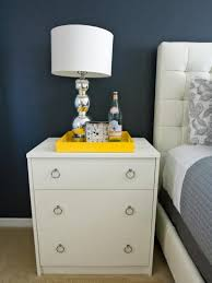 Small Night Stands Bedroom Bedroom Decor Best Modern Bedroom Nightstands With Brown And White