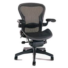 Aeron Miller Size Chart Herman Miller Aeron Chair Size B Or C Semi Loaded In Black Executive Office Chair