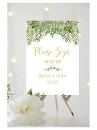 Guest Book Template Amazing Rustic Wedding Guest Book Sign Editable PDF Template Etsy