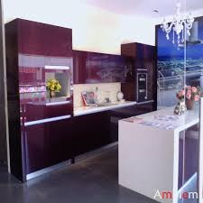 Purple Kitchen Purple Color Kitchen Designs Purple Kitchen Design Elegant Purple
