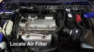 replace a fuse 2000 2005 mitsubishi eclipse 2005 mitsubishi air filter how to 2000 2005 mitsubishi eclipse