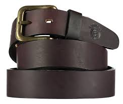 plain brown stirrup leather belt product images