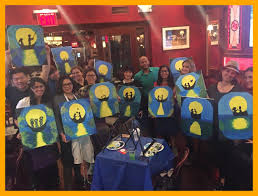 inspiring painting circle hosts class for private paint parties night home concept and hopkinton ma ideas