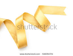 gold ribbon border golden ribbon border isolated on white stock photo 546294724