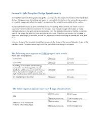 Library as publisher handout 5-template questionnaire