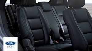adjusting 2nd and 3rd row seats ford how to ford
