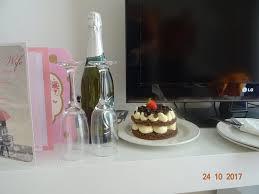 Birthday Cake And Champagne Picture Of Suneoclub Atlantica Sancta