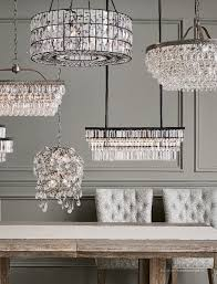 pottery barn fall 2018 d2 bella crystal round chandelier pewter finish
