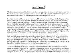macbeth act scene gcse english marked by teachers com document image preview