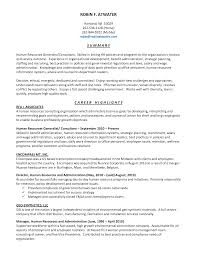 professional hr consultant resume cipanewsletter hr resumes the human resource strategic management process mba hr