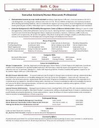 Hr Resume Objective Cover Letter Template For Human Resource Job