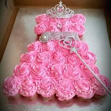 Year Old Birthday Ideas For Girl Princess Cupcake Dress First