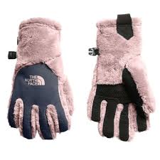 The North Face Glove Size Chart The Northface Girls Osito Etip Gloves