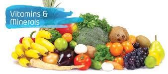 Vitamins And Minerals Chart Organics