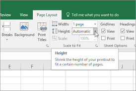 Scale A Worksheet Excel