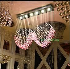 flush mount lamp kitchen metal hanging rectangle led crystal innovative diy chandelier
