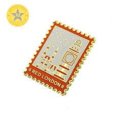 Factory Wholesale <b>Custom Gold</b> Plated Color Fill Metal <b>Badge</b>