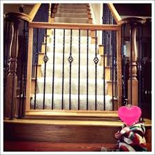 retractable baby gates outdoor baby gate for deck retractable deck gate medium size of baby gate