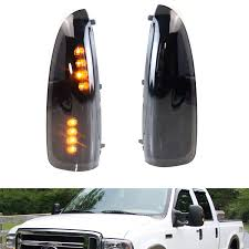 2005 Ford F350 Cab Lights Ijdmtoy 2 Smoked Lens Led Side Mirror Marker Lights Set For 2003 2007 Ford F 250 F 350 Superduty 2000 2005 Ford Excursion