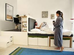convertible furniture small spaces. Relieving Convertible Furniture And Small Spaces All Storage Bed Image