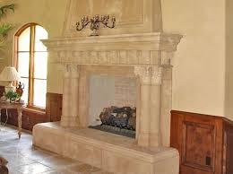 cast stone fireplace surroundantels milano