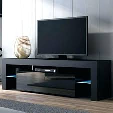 entertainment center for 50 inch tv. 50 Inch Tv Stands Black Modern Stand High Gloss Cabinet Led Lights Unit . Entertainment Center For