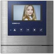 Монитор <b>видеодомофона Commax CDV-43M</b>(<b>Metalo</b>) синий ...